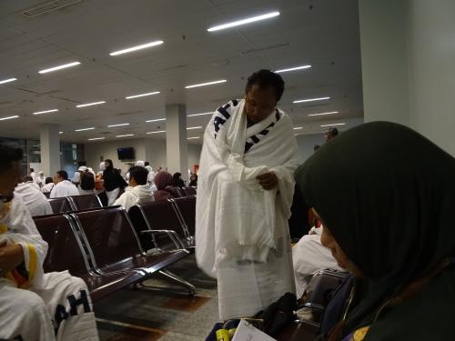 Tiba di Airport Jeddah